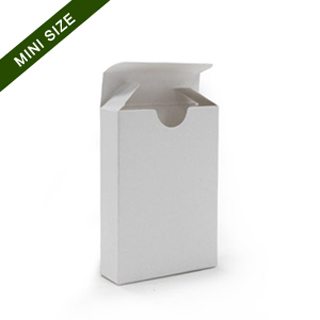 Tuck box for mini playing cards