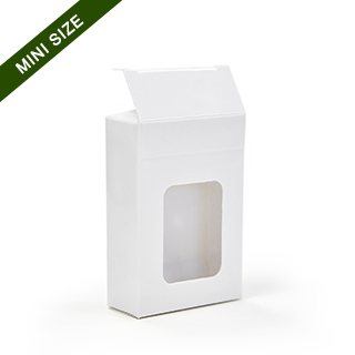 Window tuck box for 54 mini playing cards