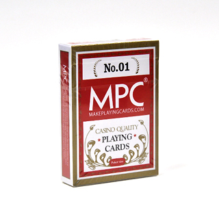 MPC® Casino Grade Cards with Red Back