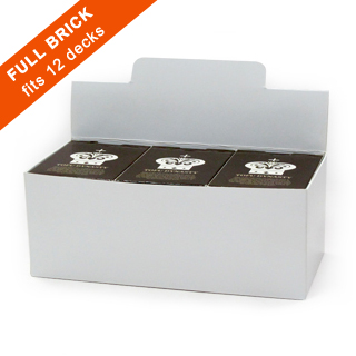 Brick Box for 12 Playing Card Decks