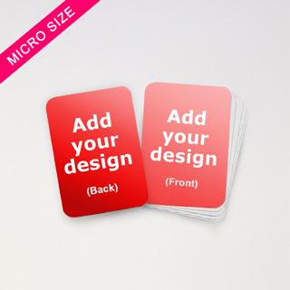custom micro board game cards