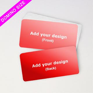 Domino Deck Custom Blank Cards--Horizontal