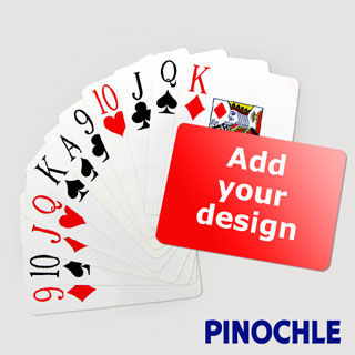 Pinochle Fun - Classic Choice with Jumbo Index (Landscape)