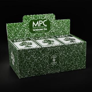 Impressions Foil Green Back Full Brick (12 decks)