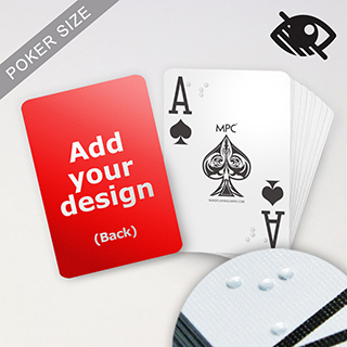 Custom Braille Playing Cards