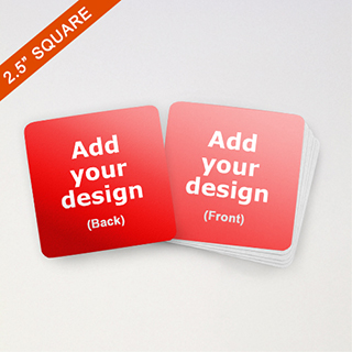 Custom Square 2.5 inch Game Cards
