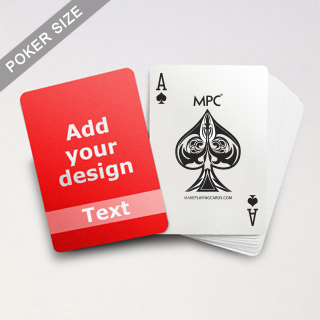 Classic Personalized Playing Cards