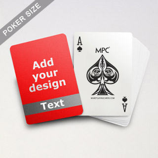 Classic Grey Personalized Photo Playing Cards
