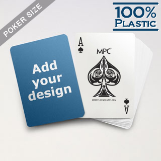 Custom Plastic Poker Cards by MPC
