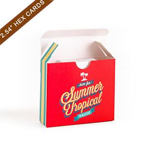 Custom Tuck Box for 2.2x2.54 cards