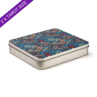 Custom Tin Box For 2 Tarot Decks