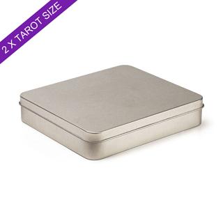Plain Double Tarot Tin Box