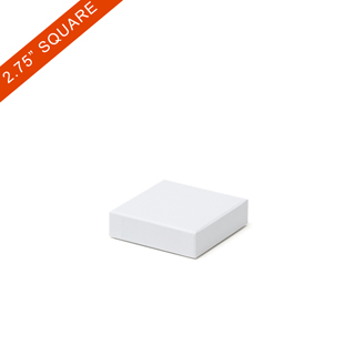 Plain rigid boxes for playing cards-2.75x2.75  54pcs