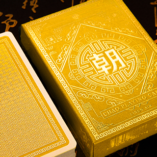 CHAO Imperial Yellow Playing Cards