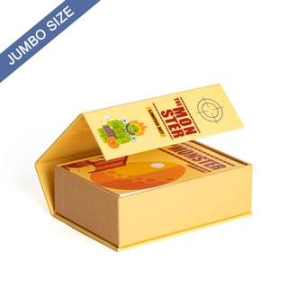 Custom Jumbo Size and Booklet Magnetic Book Box
