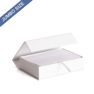 Plain Jumbo Size Magnetic Book Box