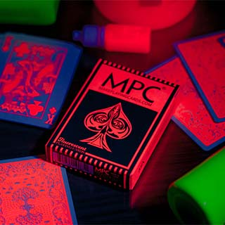 Fluorescent Peach Ed. Playing Cards
